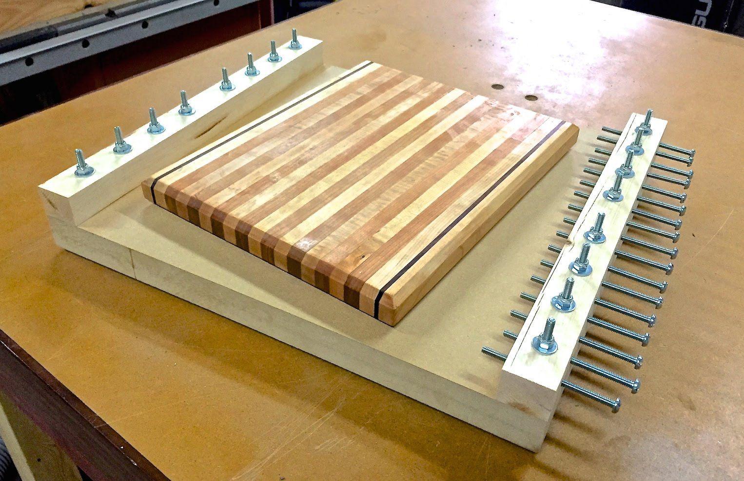 Склейка мебельного бруса