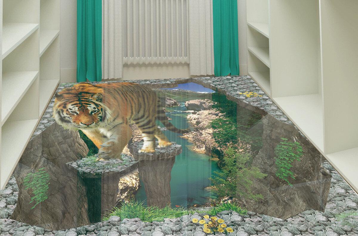 3Д наливной пол