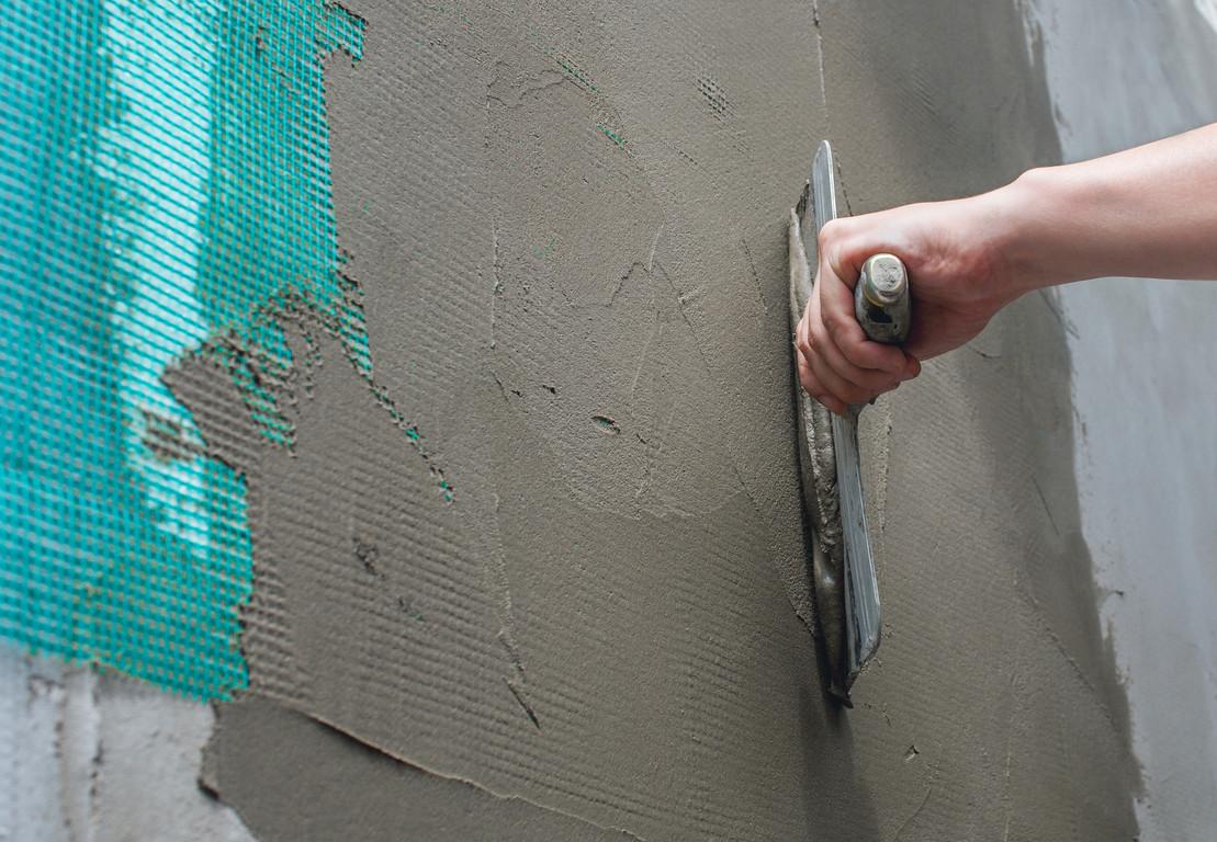 Фото цементной шпаклевки