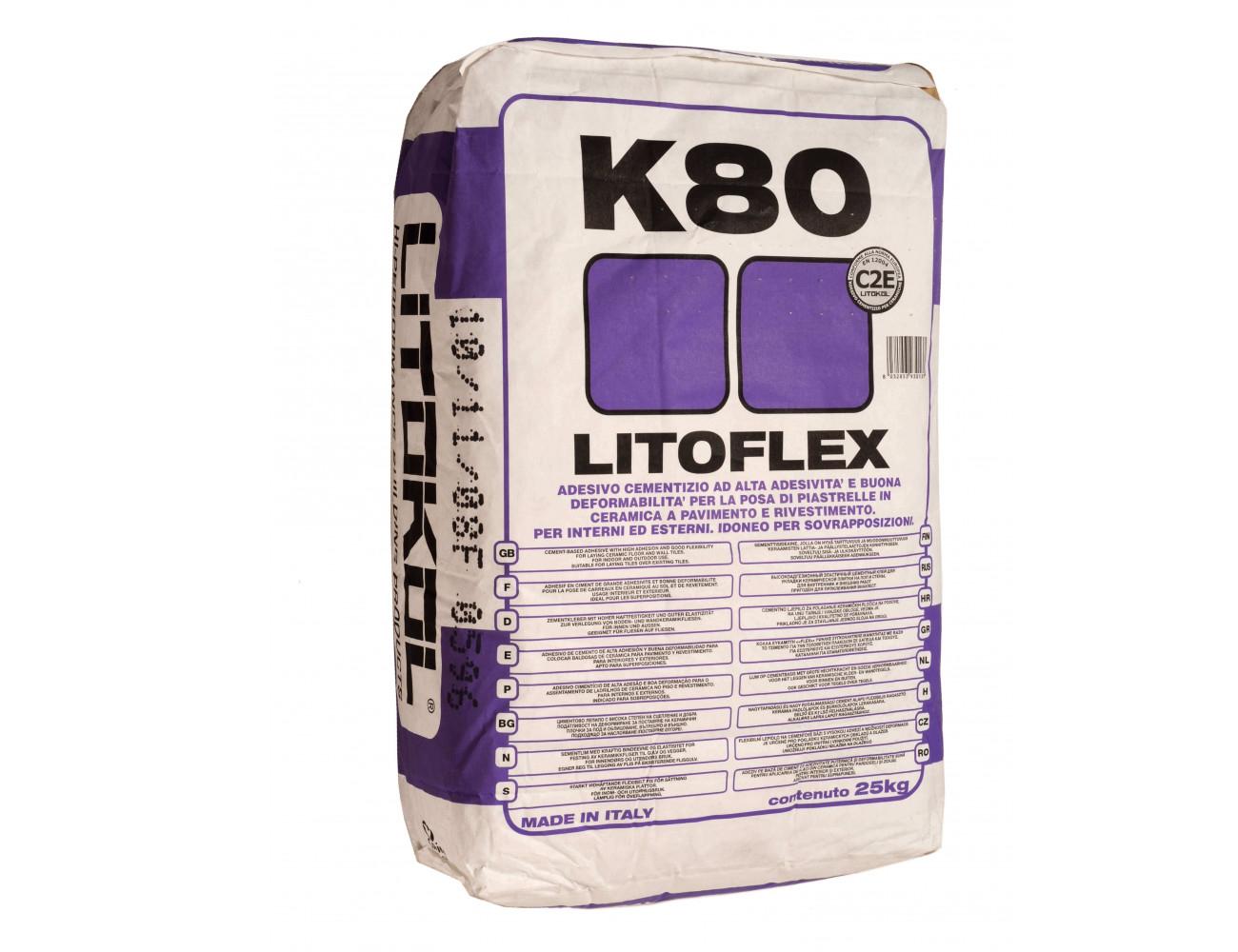 Клей Litofleks K80