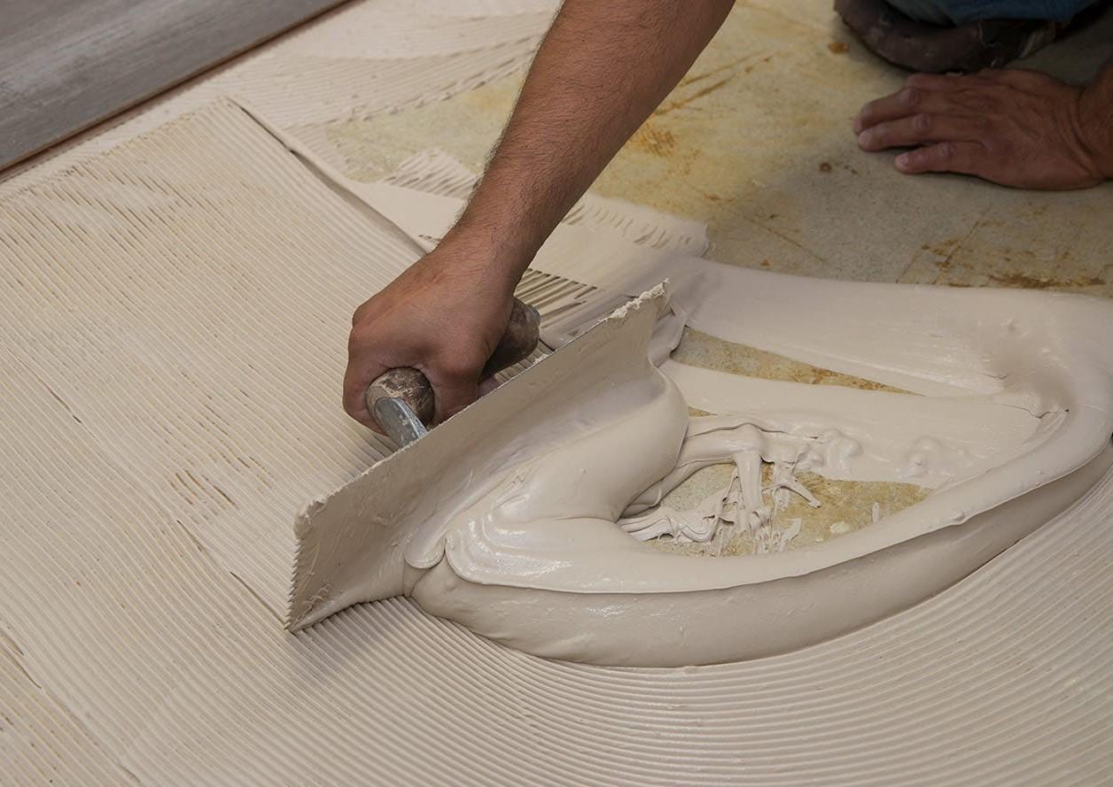 Полиуретановый плиточный клей