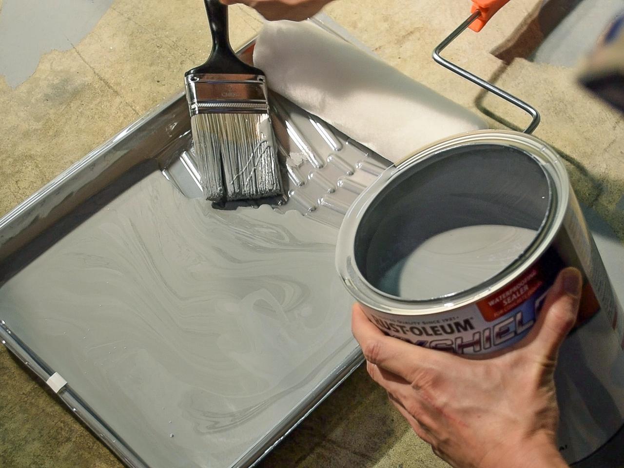 Приготовление краски