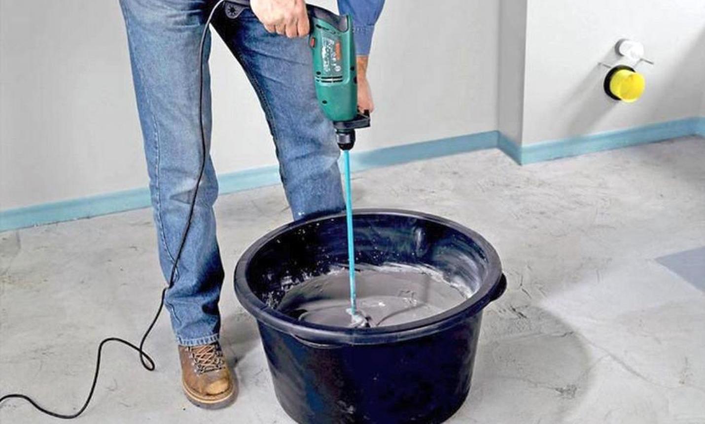 Приготовление наливной смеси