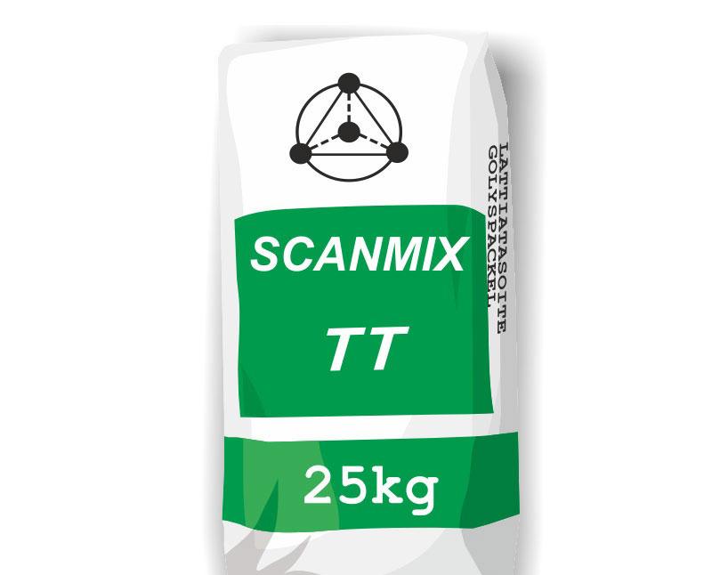 Фото шпаклевки SCANMIX TT