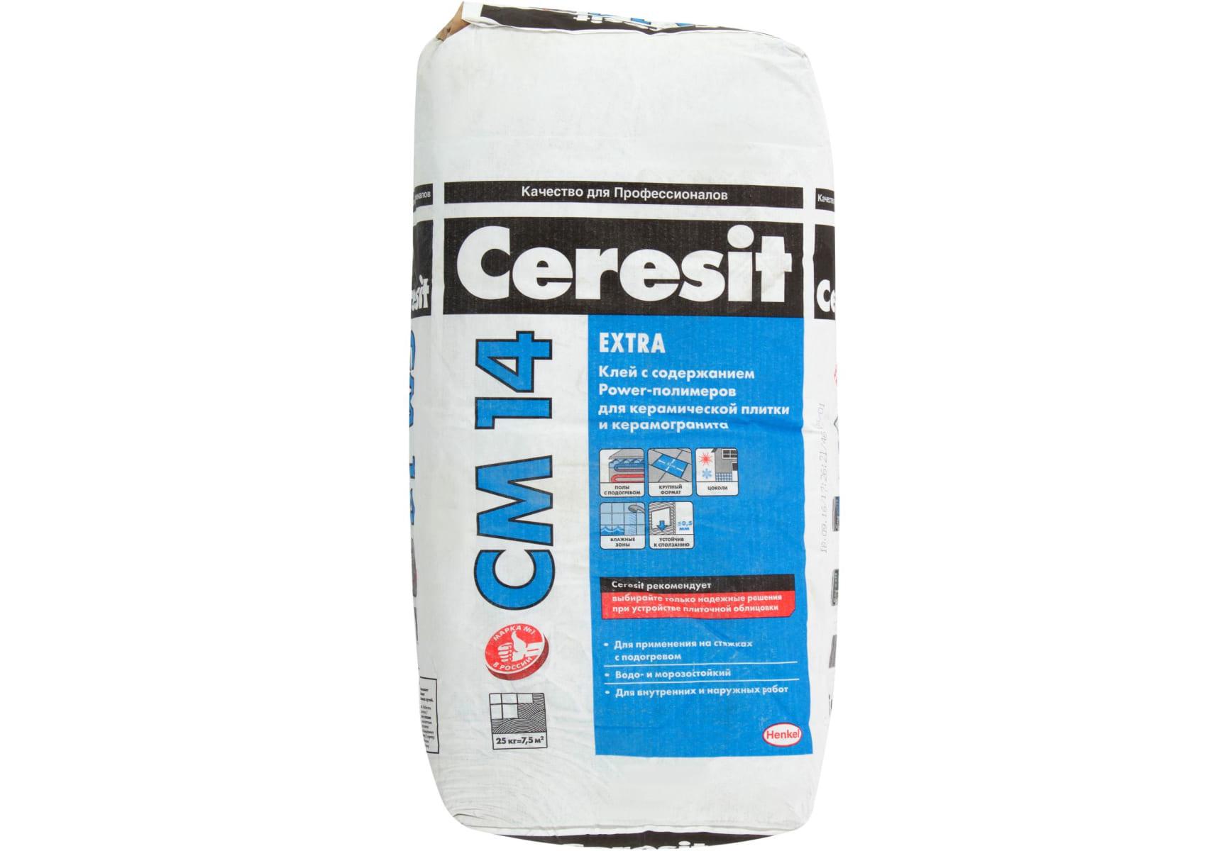 Клей Cerezit CM14 EXTRA