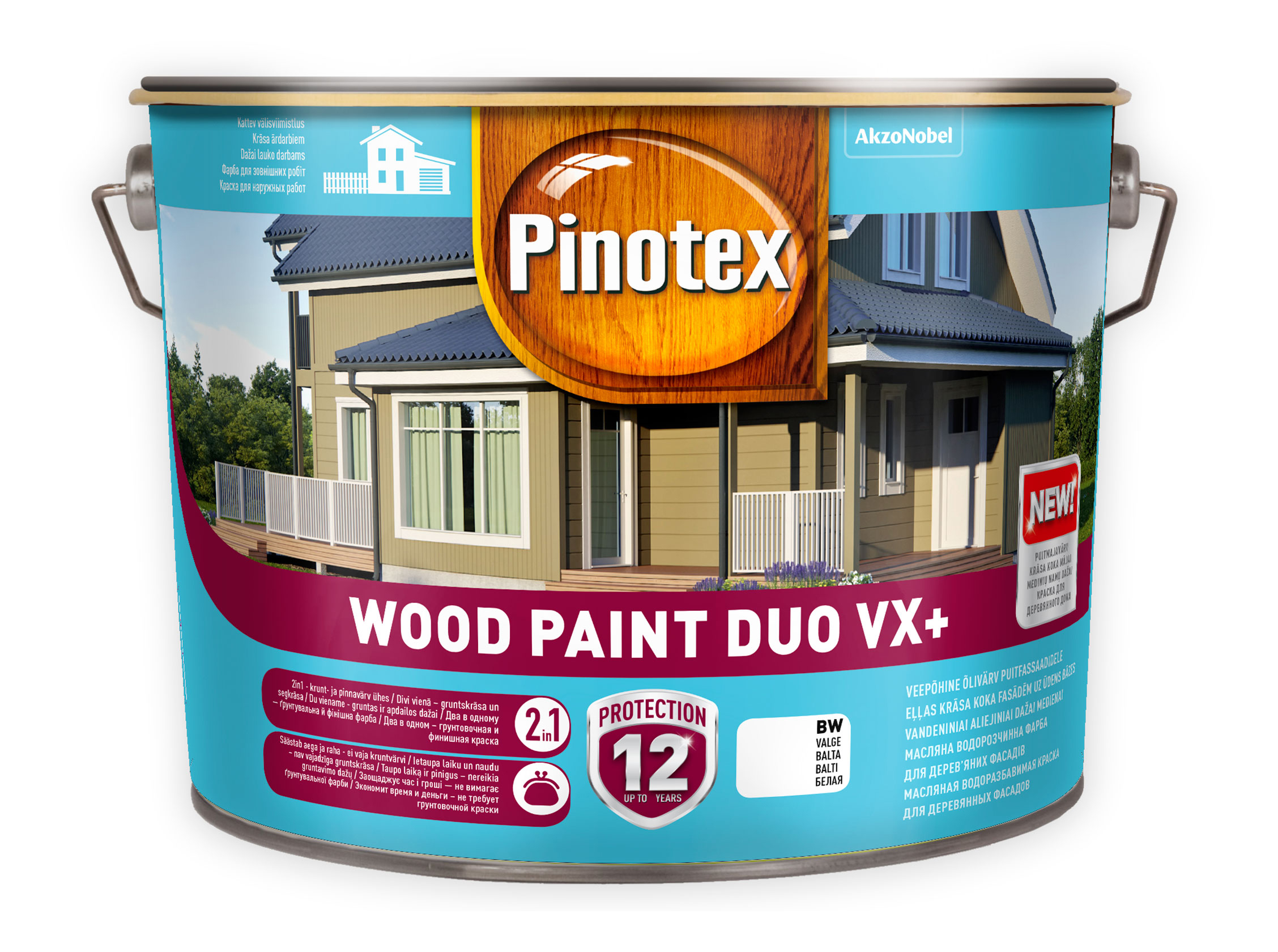 Pinotex Wood Paint Duo VX+ 10L