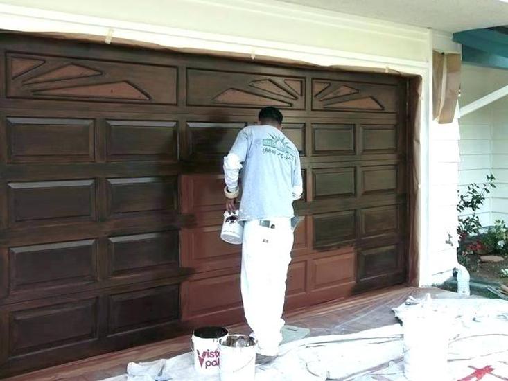 Окрашивание гаража