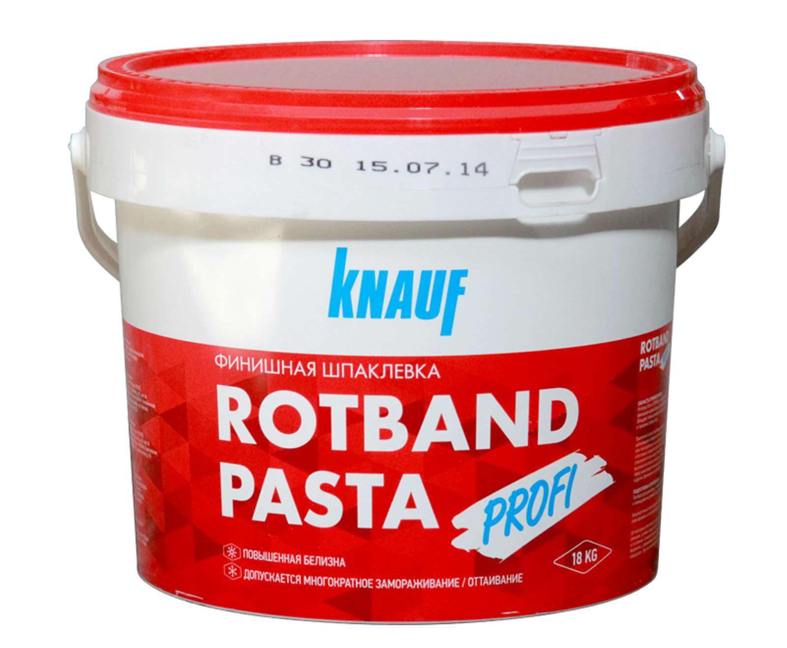 Шпаклевка Knauf Rotband Pasta