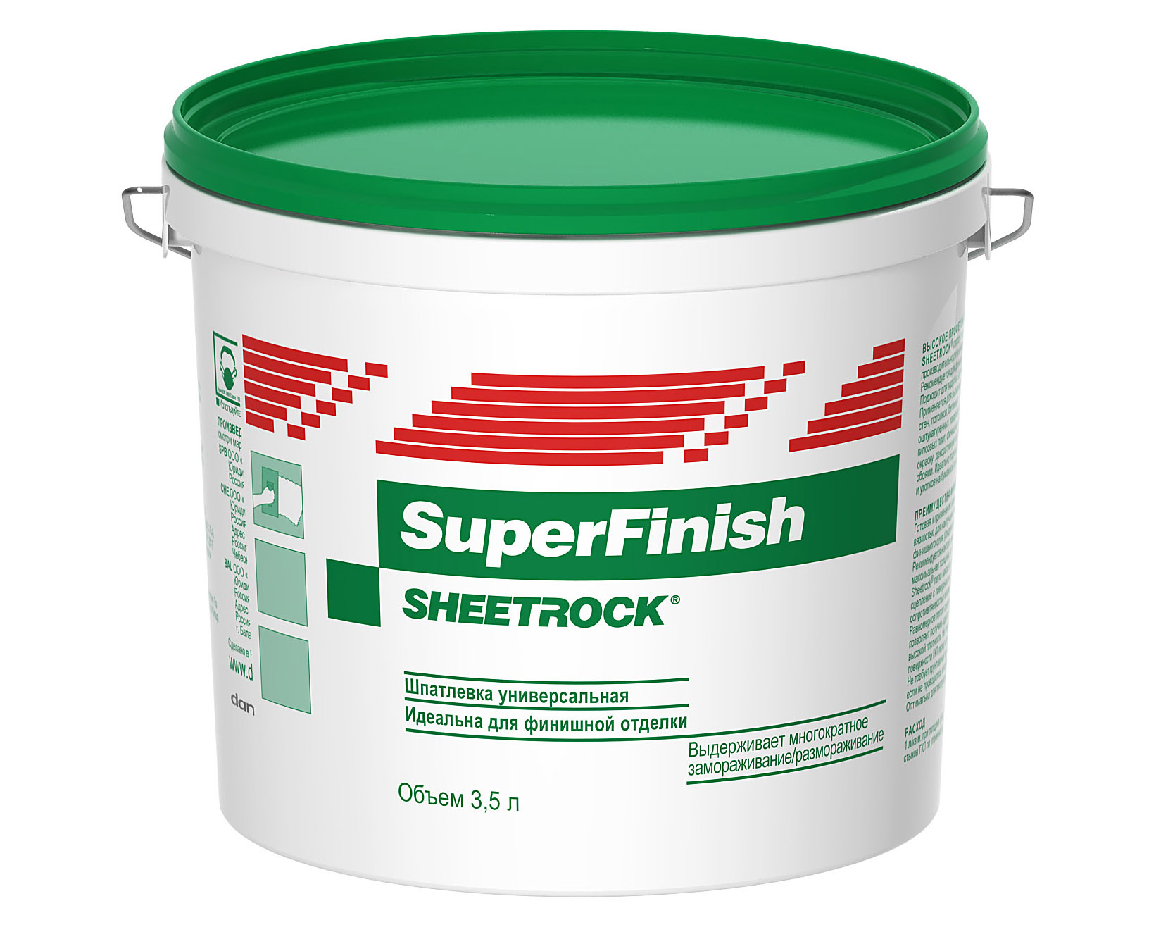 Шпаклевка Sheetrock SuperFinish