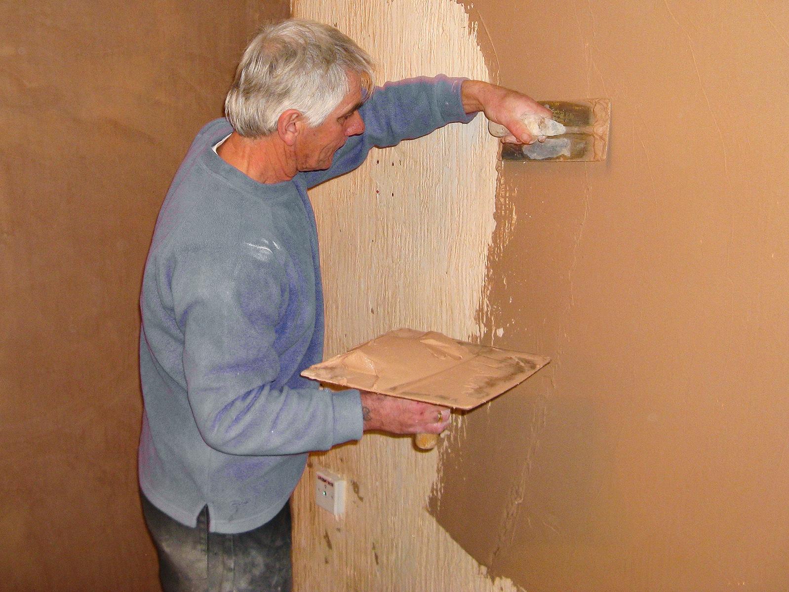 Шпаклевка деревянных стен