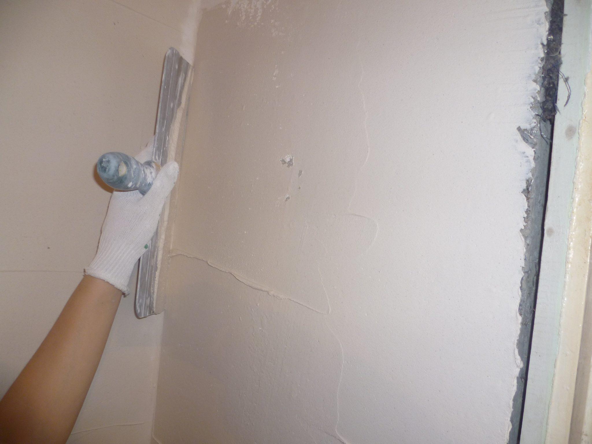 Шпаклевка стен в доме
