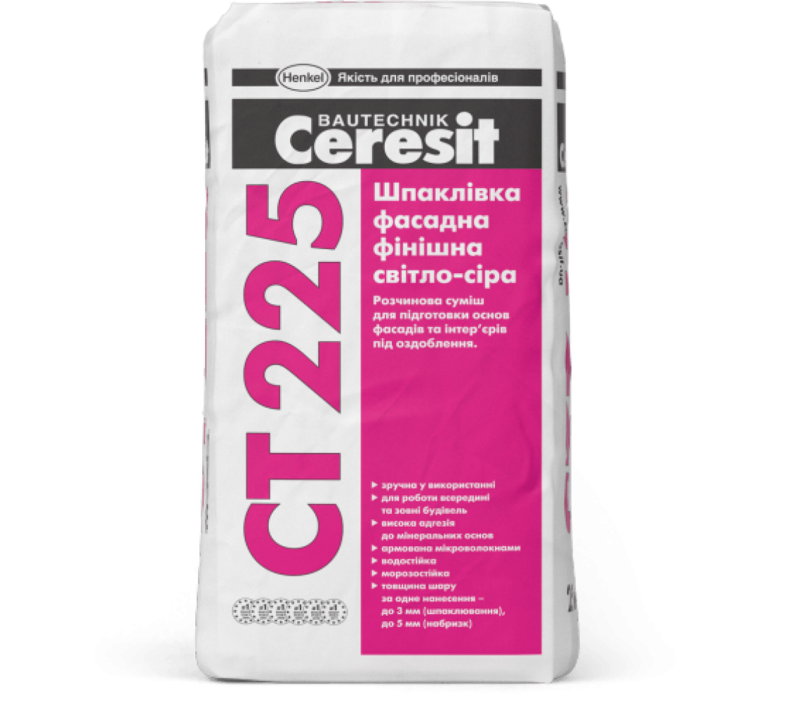 Штукатурка Cerezit ST225