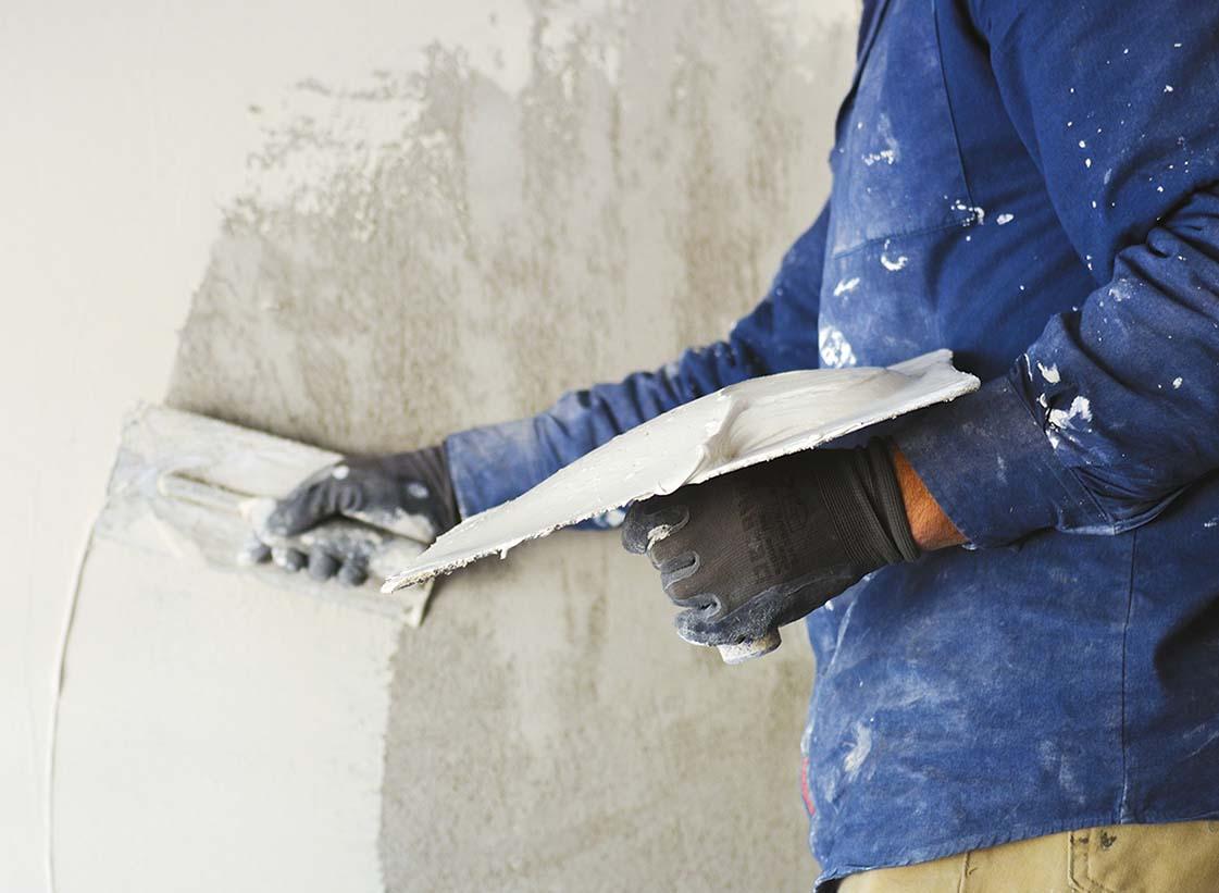 Штукатурка бетона