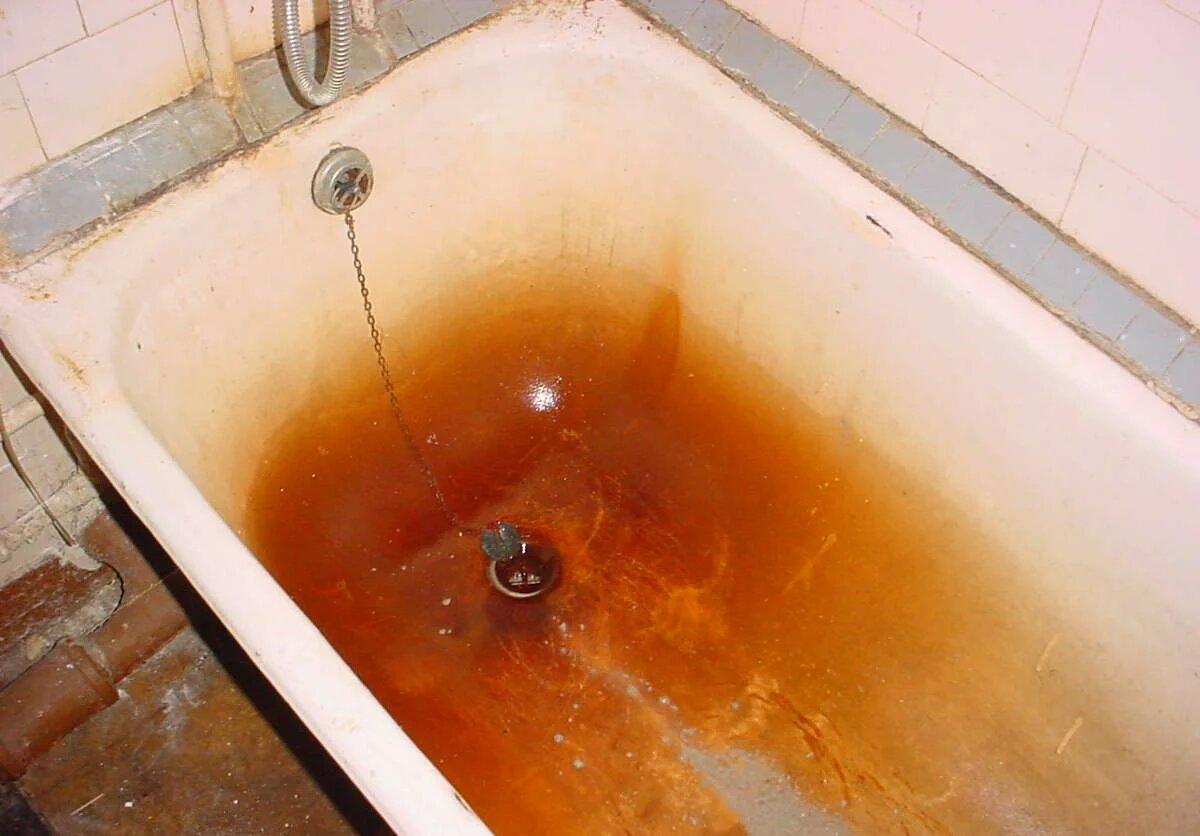 Фото желтой ванны
