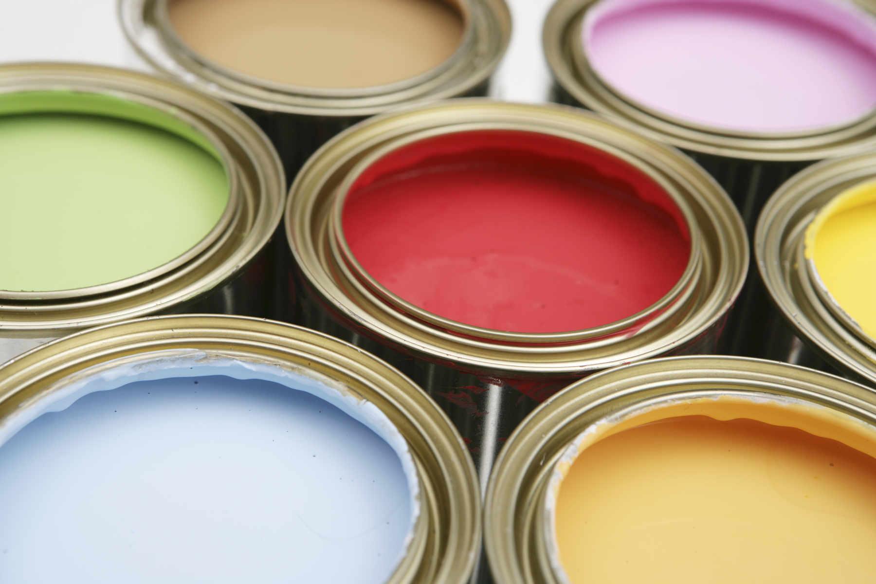 Банки краски