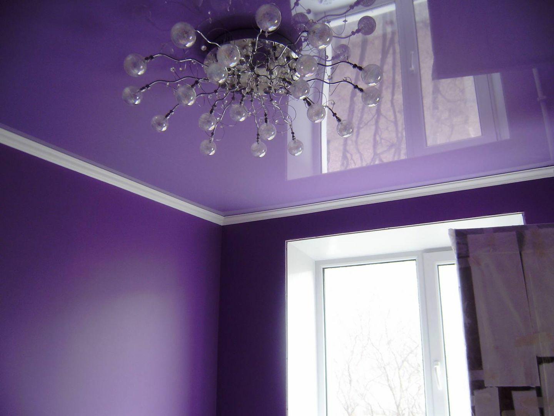 Фото глянцевого потолка