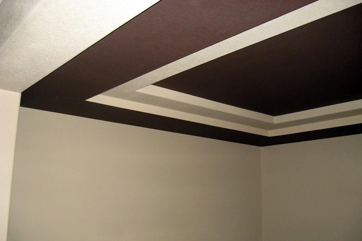 Масляная краска на потолке