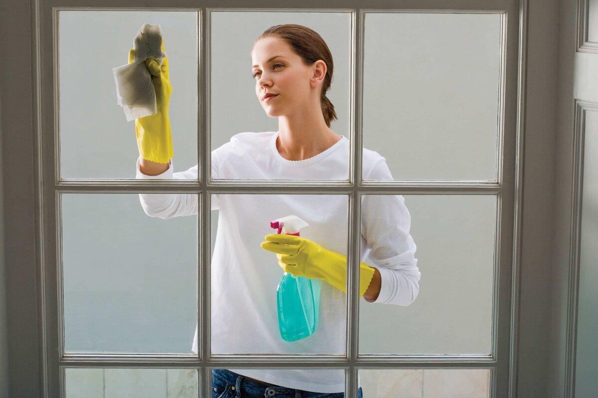Мытье дверей