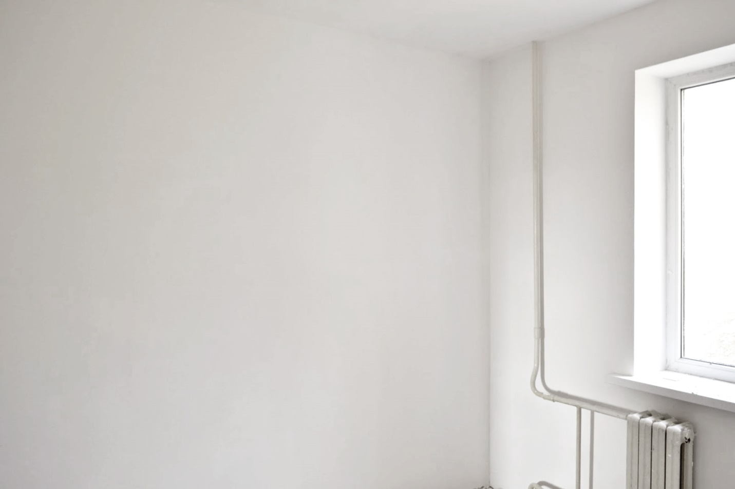 Фото шпаклеванных стен