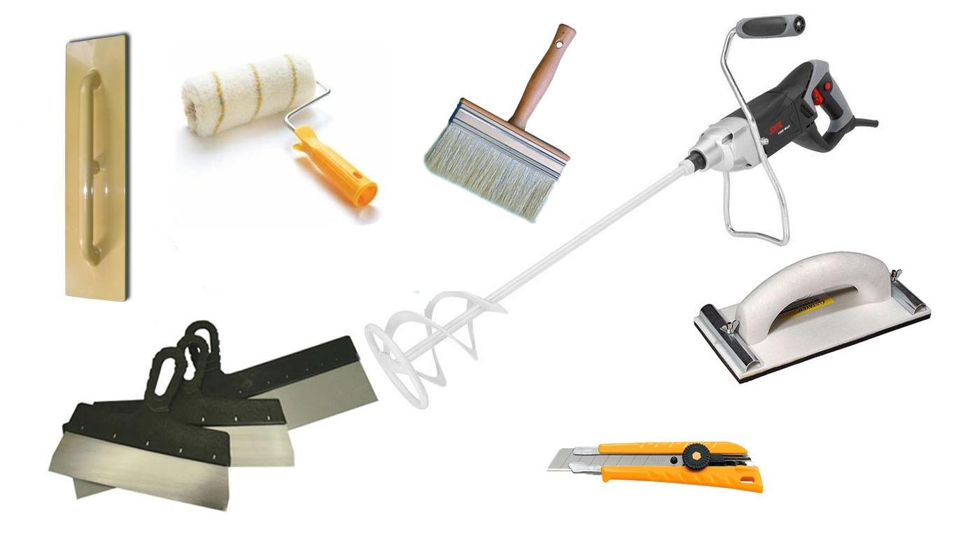 Штукатурные инструменты