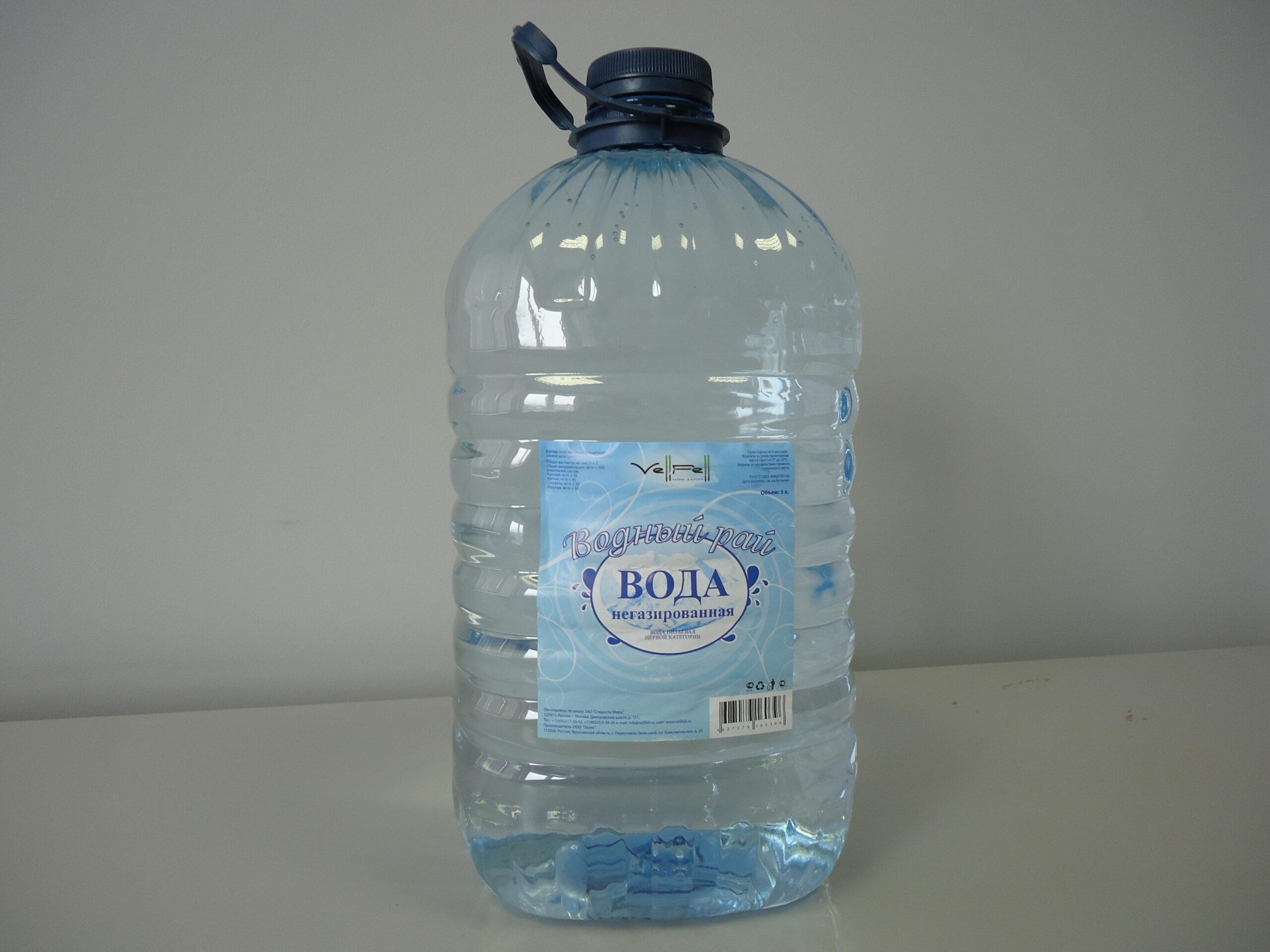 Фото питьевой воды