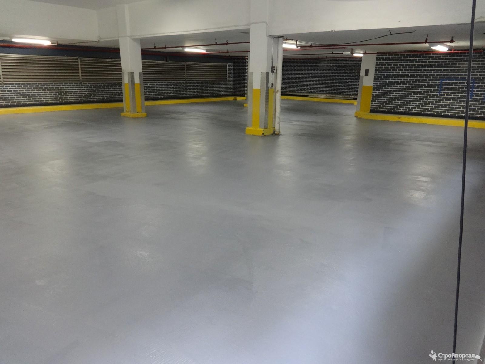 Фото бетонного пола