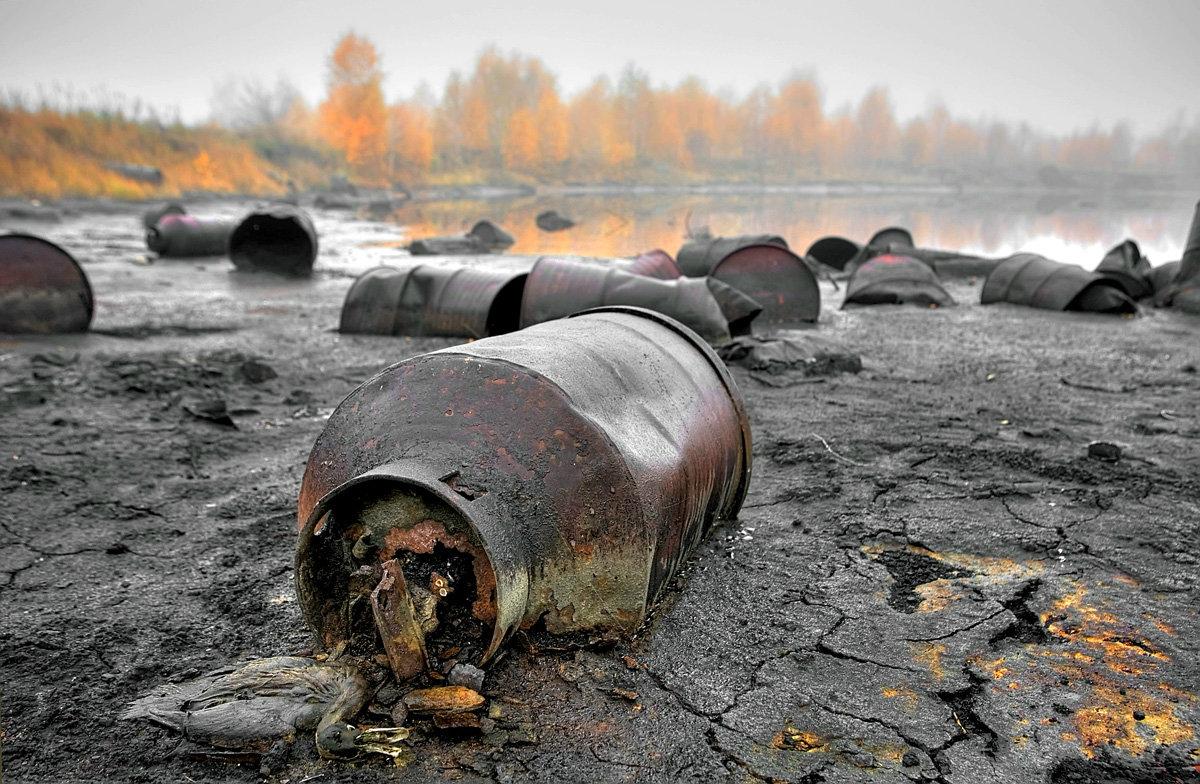 Фото химических отходов