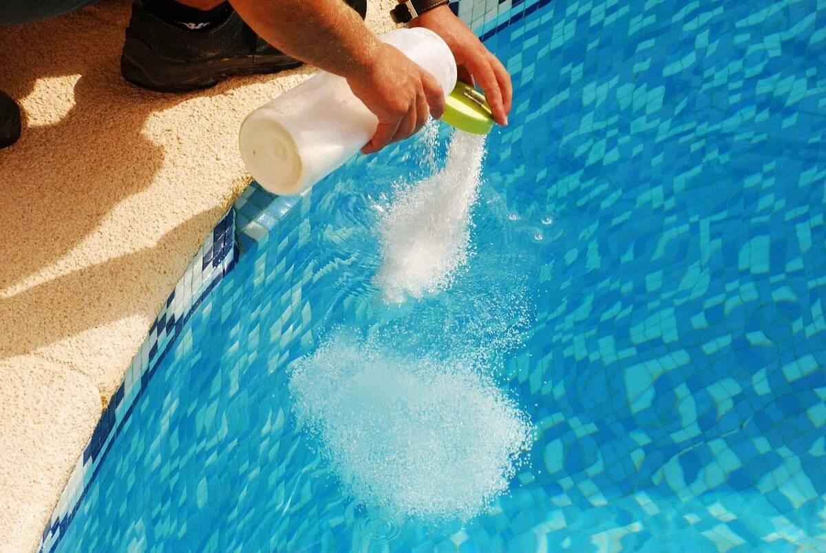 Хлорка для бассейна