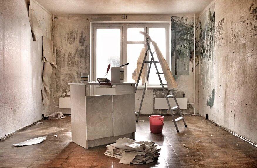 Комната под ремонт