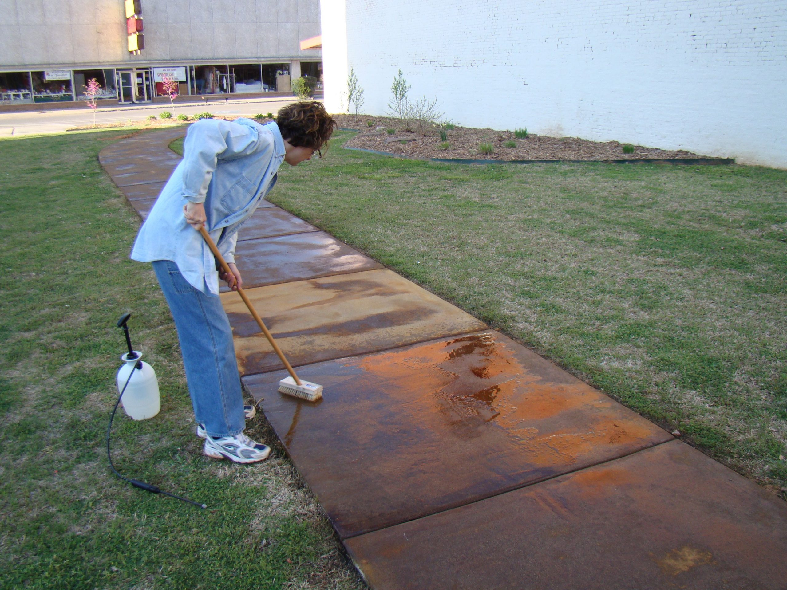Морилка для бетона