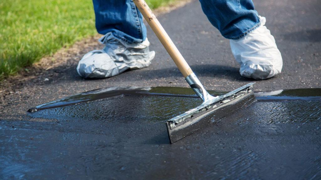 Окрашивание бетона