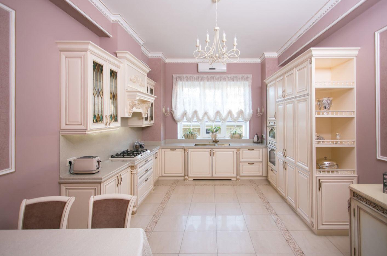 Фото пастельной кухни