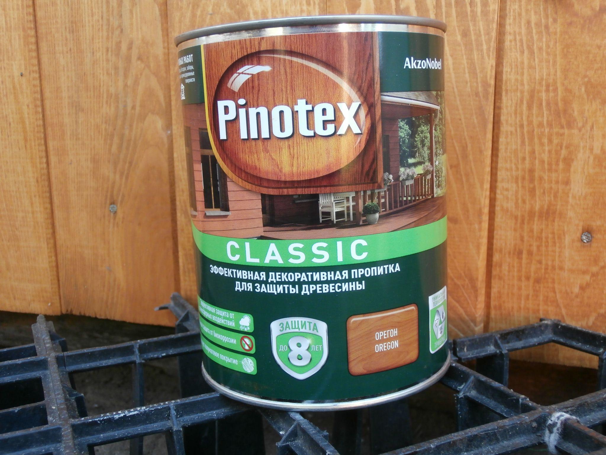 Пинотекс для дерева