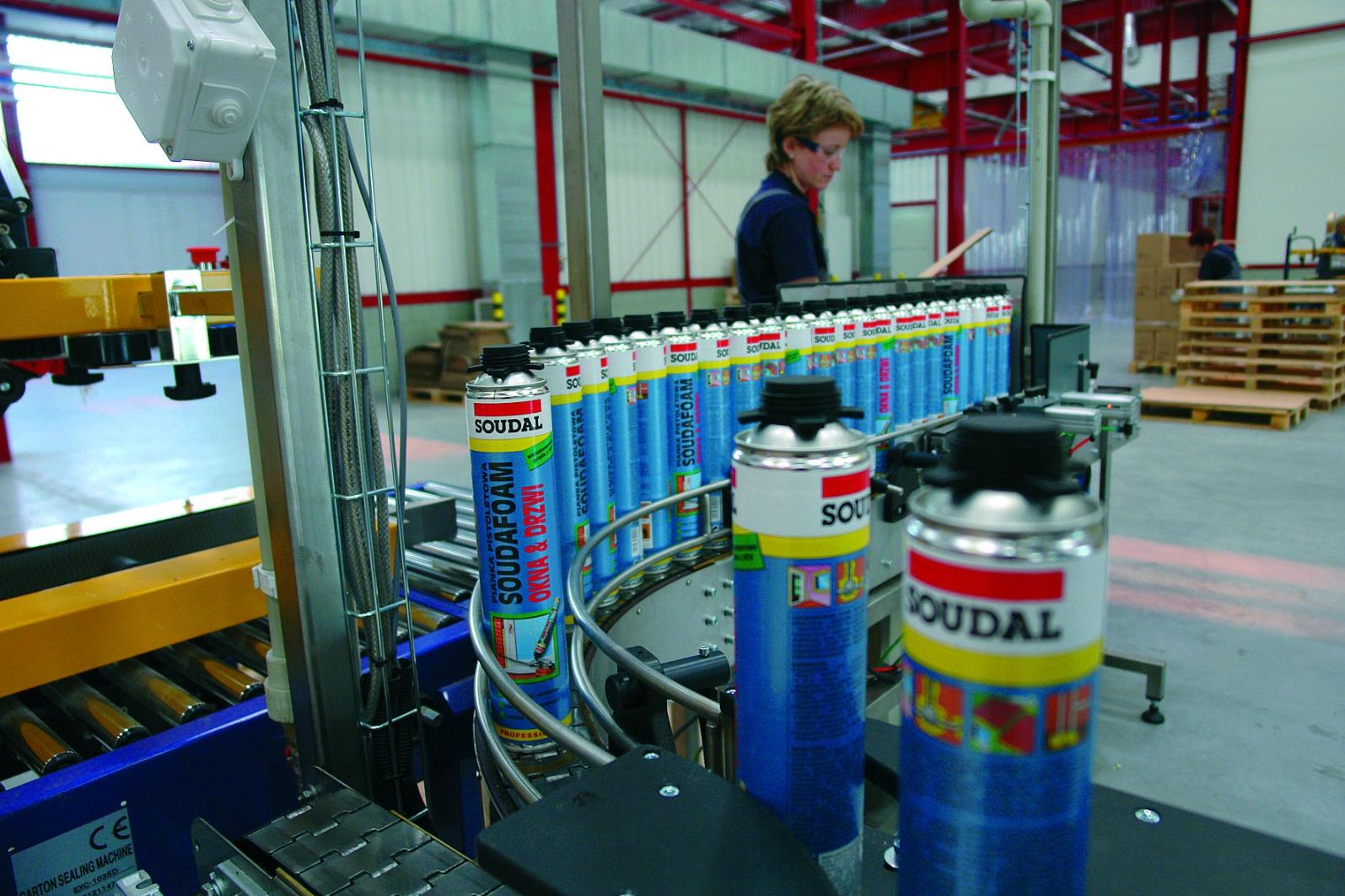 Производство продукции Soudal