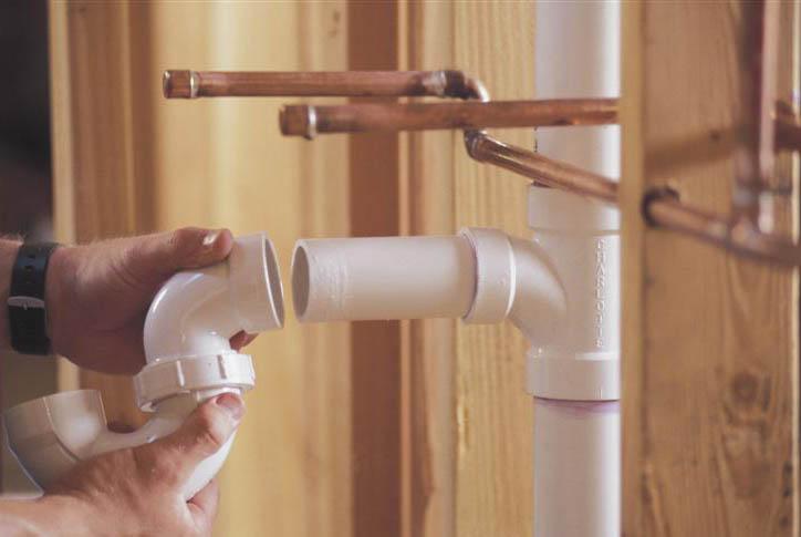 Водопроводные трубы в доме