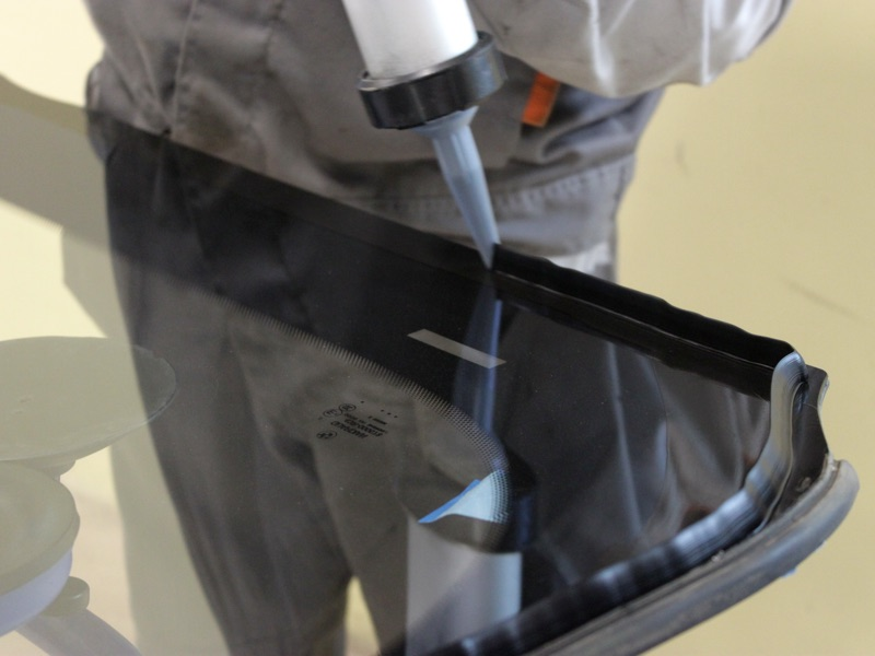 Герметизация стекла
