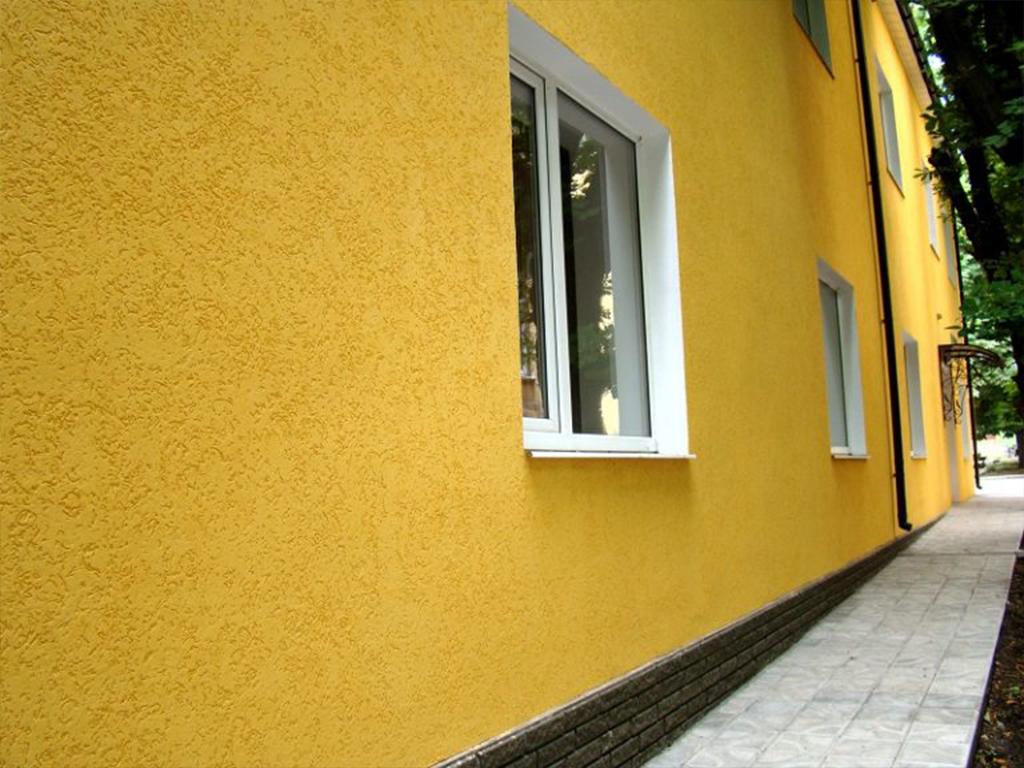 Цветной фасад