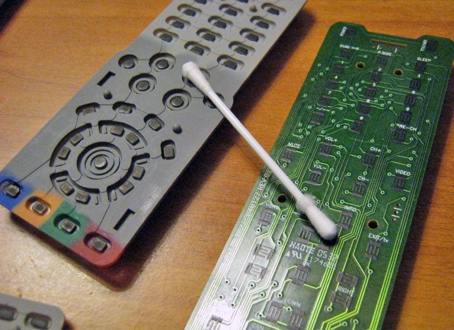 Ремонт пульта ТВ