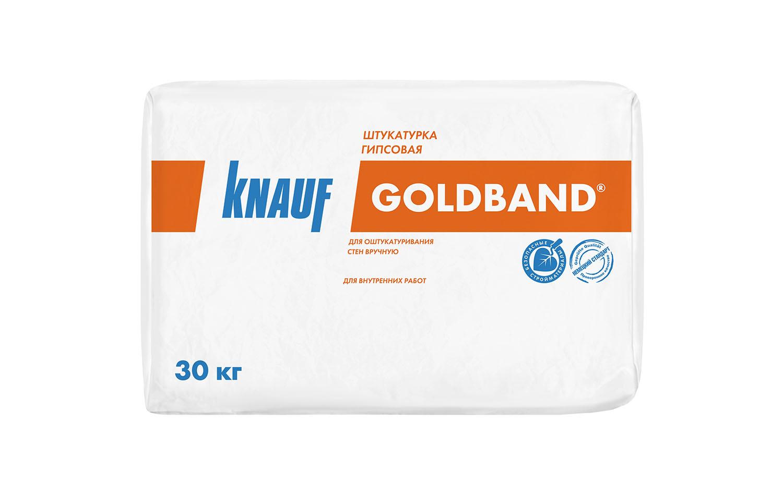 Штукатурка Goldband