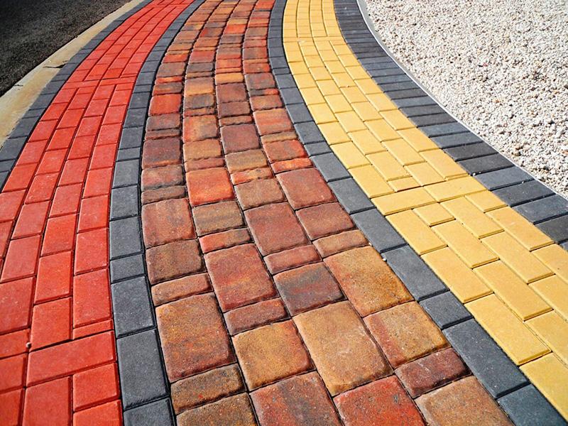 Фото цветной плитки