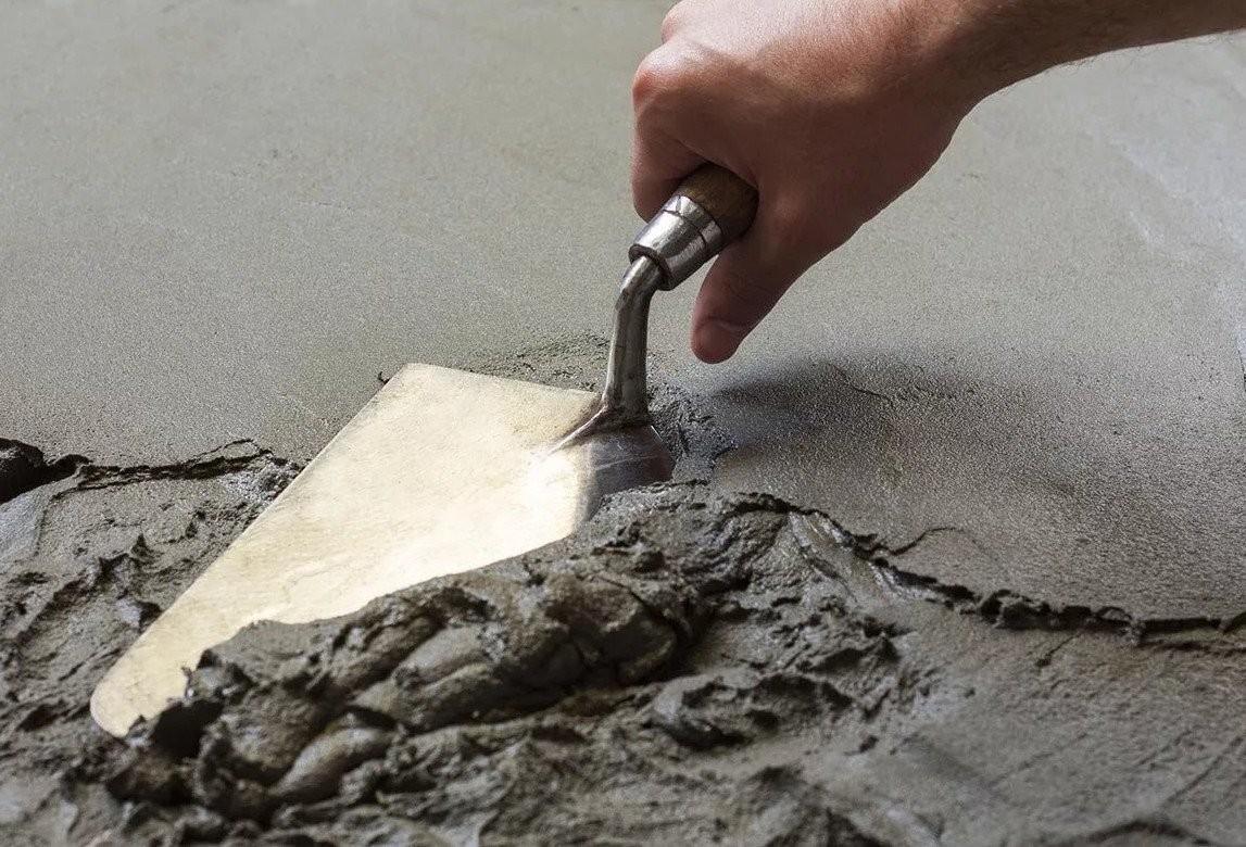 Цементный раствор для пола