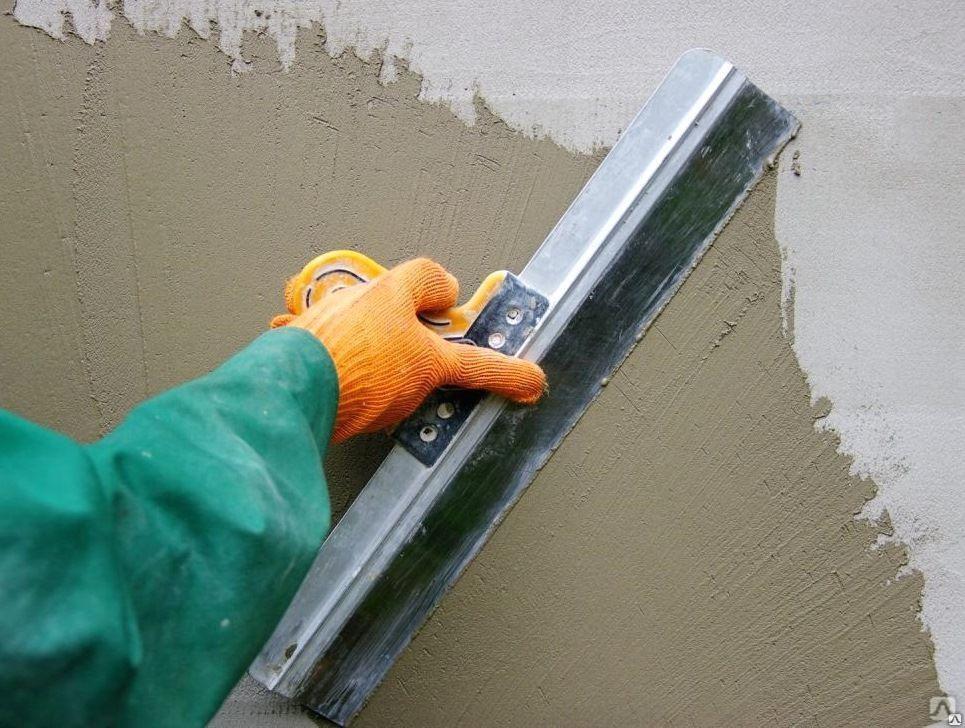 Шпаклевка бетона
