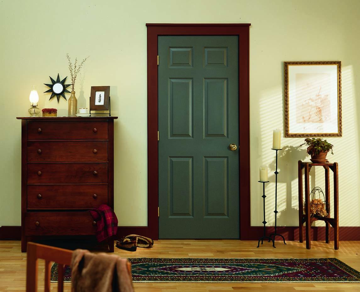 Фото зеленых дверей