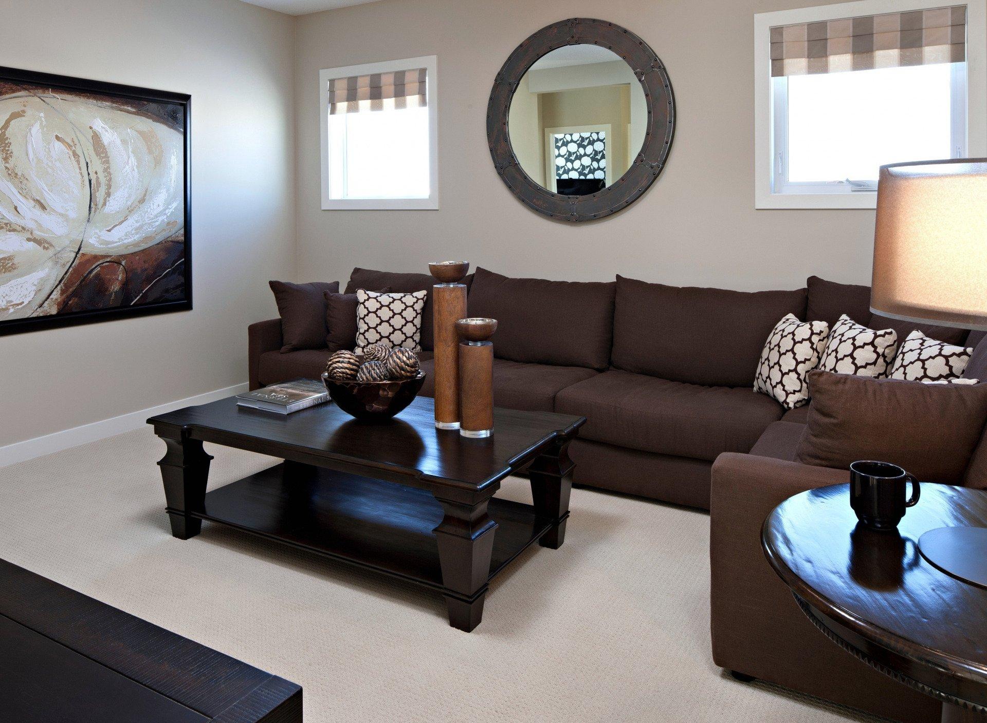 Фото коричневой мебели