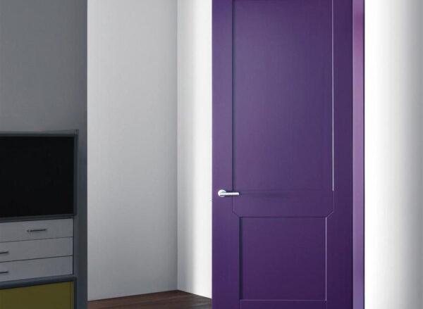 Лавандовые двери