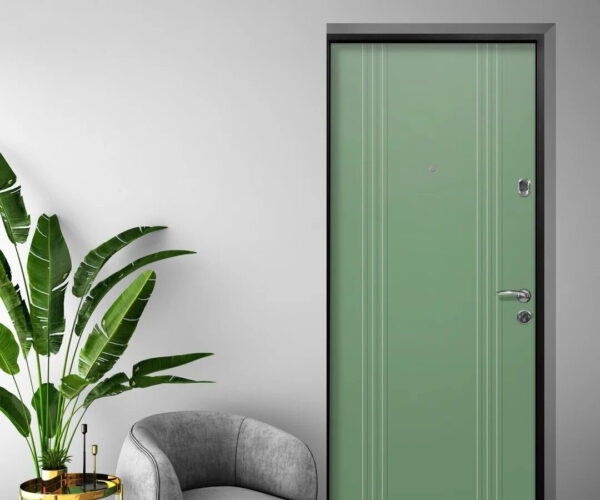 Оливковые двери