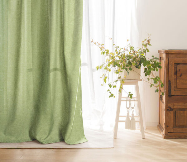 Фото оливковых штор