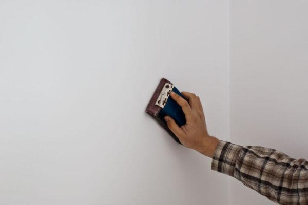 Шлифование стен