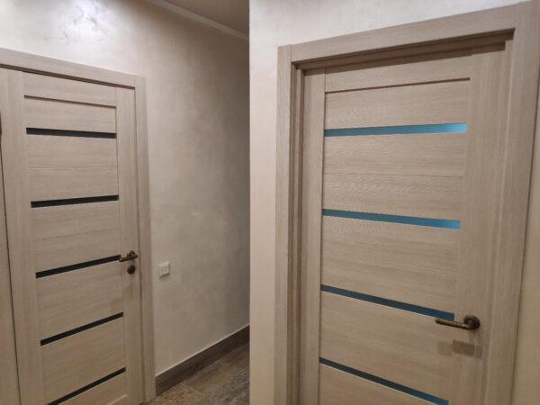 Двери цвета капучино