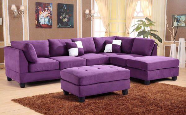 Фото фиолетовой мебели